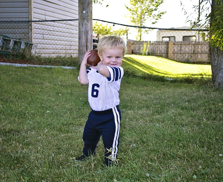 Toddler Football Player costume
