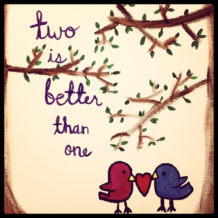 Painting, bird, cute, quotes