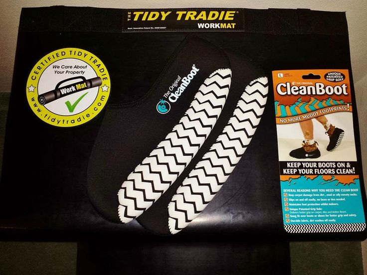 Tidy Tradie - Work Mats & Work Boot Covers