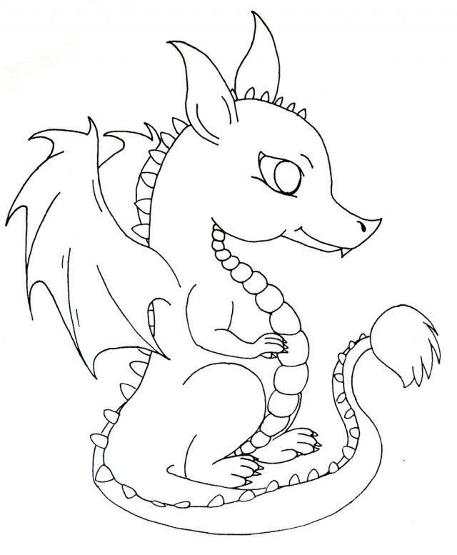 Baby Dragon Coloring Pages Free Cute Baby Dragon Download Free Clip Art Free In 2020 Dragon Coloring Page Cute Dragons Cute Coloring Pages