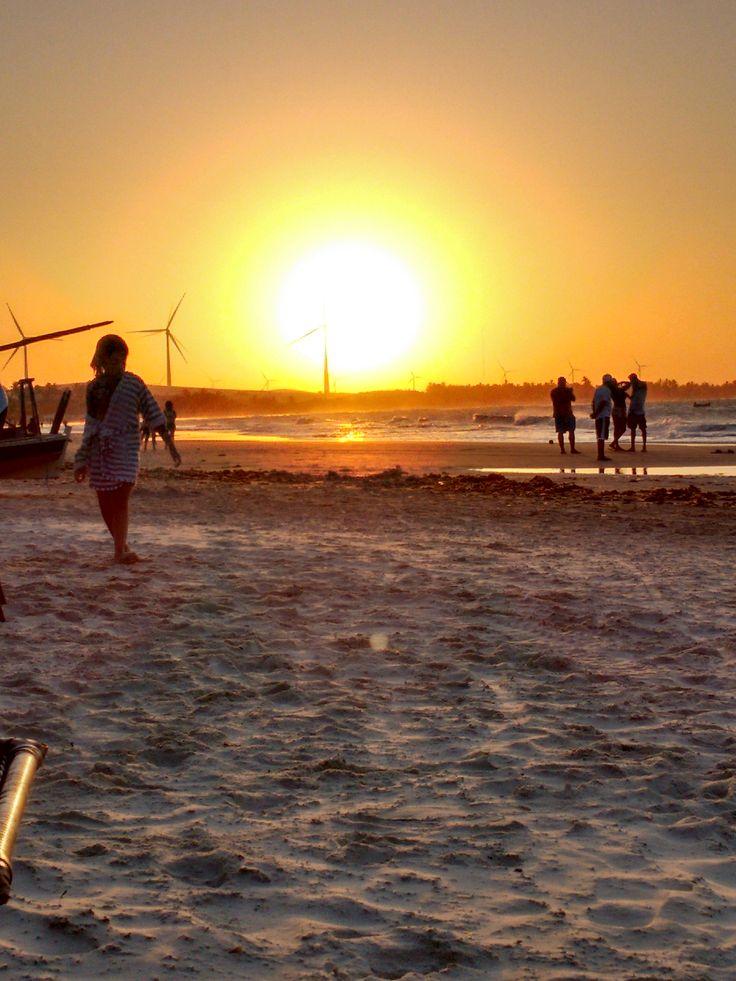 Pôr do sol em Flecheiras - CE