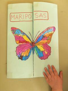 Soñando sonrisas...: Lapbook de Mariposas