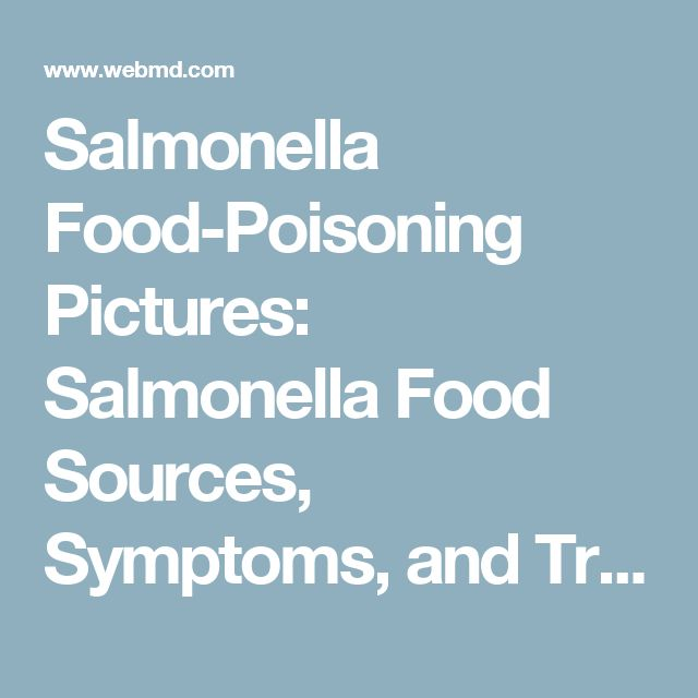 symptoms prevention and treatments of salmonella a food borne illness To investigate the specific causes of food-borne illness outbreaks — occurrences  in  the second most common source of the outbreaks was salmonella,  for  information about preventing food-borne illnesses — and about how to report.