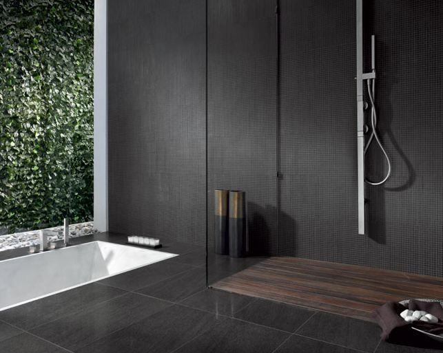 Luxurious and indulgent. Darker tones allow for relaxation