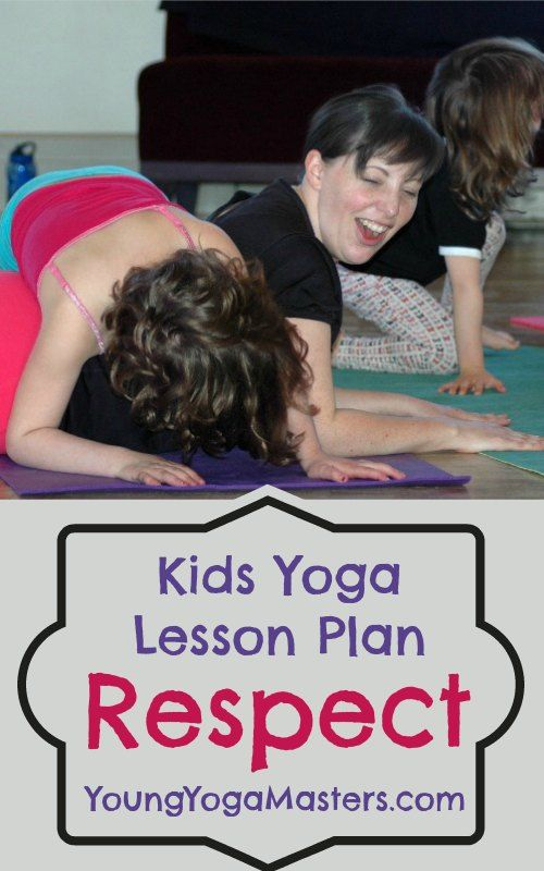 kids yoga teacher training lesson plan on respect using partner yoga