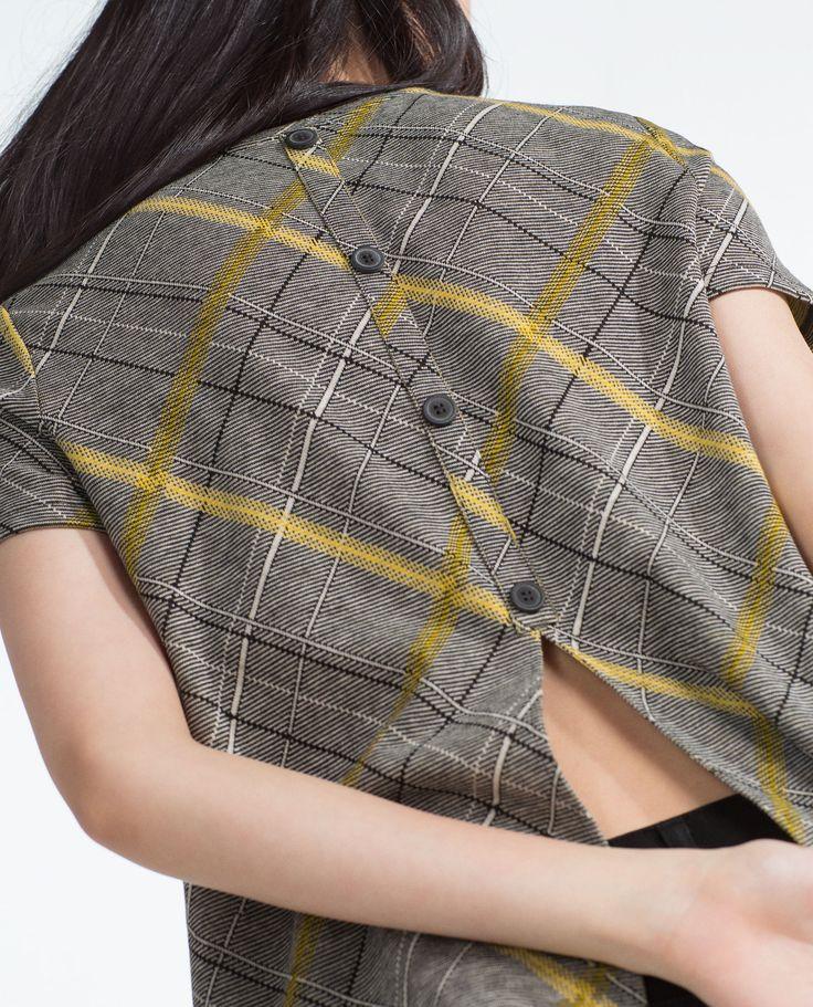 shirt mit knopfleiste am r cken alles anzeigen t shirts damen. Black Bedroom Furniture Sets. Home Design Ideas