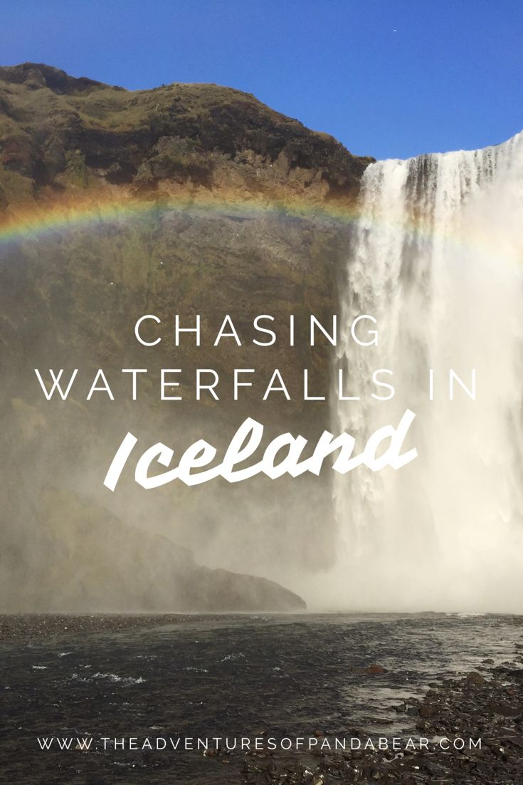 A guide to finding and chasing waterfalls in Iceland while taking a road trip | Scenic Views in Iceland, Natural Sights in Iceland, Landscapes in Iceland, Icelandic Waterfalls, Golden Circle, Diamond Circle, South Coast of Iceland, Ring Road, Iceland Road Trip, Gullfoss, Brúarfoss, Öxarárfoss, Fossarétt, Hraunfossar, Barnafoss, Kolugljúfur, Goðafoss, Dettifoss, Kirkjufellfoss, Gljúfrabúi, Seljalandsfoss, Skógafoss, Foss á Siðu, Glymur #ThingsToDo #Iceland #BeautifulViews #NaturalWonders…