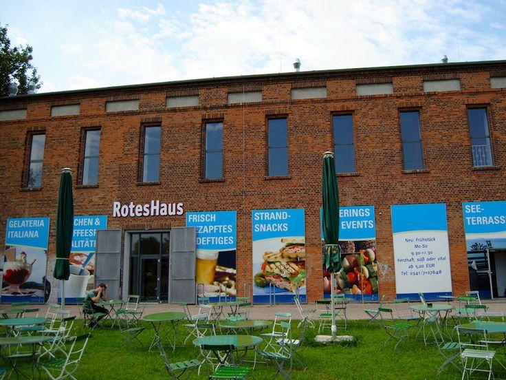 Rotes Haus am Kulkwitzer See - Leipzigseen