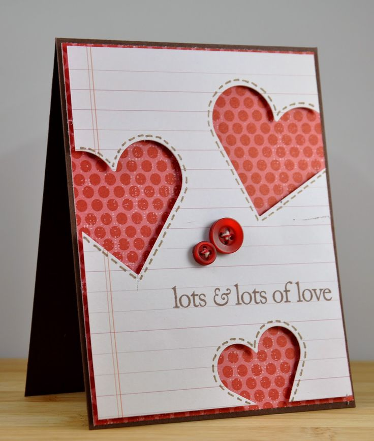The Nature of Crafty Things: 32 looks good on you - Happy Valentine's Day!