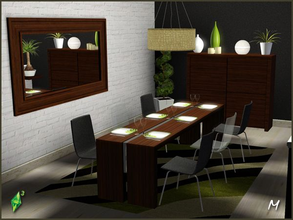 234 best sims 3 object downloads images on pinterest for Sims 3 dining room ideas