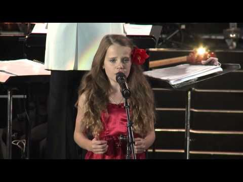 "Amira Willighagen - ""O Sole Mio"" with Paul Potts & James Bhemgee - South Africa - 9 August 2014 - YouTube"