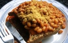 Baked Beans on Toast With Options
