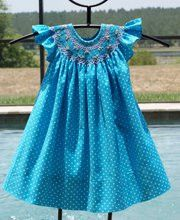 Girls polka dot summer dress – Carousel Wear