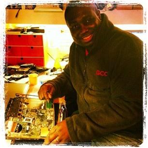 Big George healing a poorly #laptop #computerrepairs