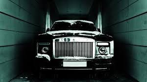 Black Rolls Royce Phantom Coupe Wallpaper