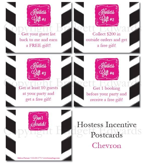 Hostess coaching post cards for direct sales consultants!