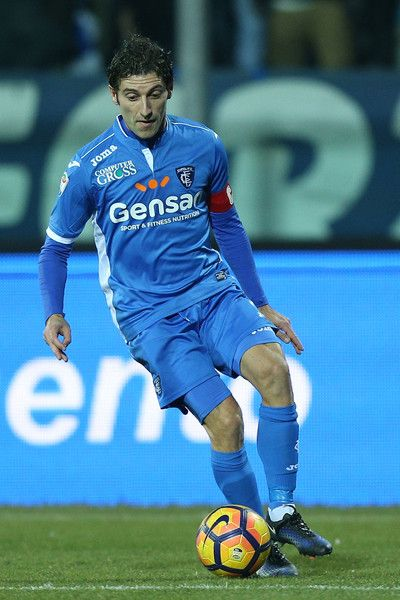 Daniele Croce of Empoli FC in action during the Serie A match between Empoli FC and US Citta di Palermo at Stadio Carlo Castellani on January 7, 2017 in Empoli, Italy.
