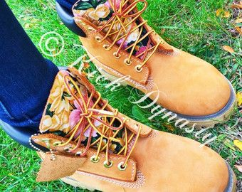 Custom Timberland Boots Hand Painted by DivineUnlimited on Etsy