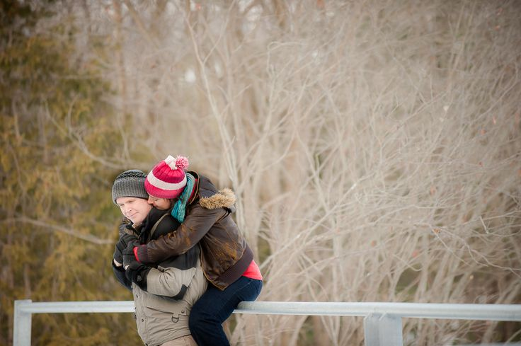 evergreen brickworks winter engagement