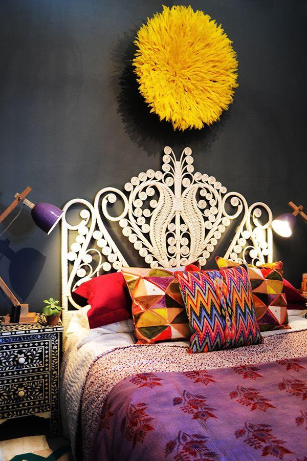 Casinha colorida: Especial quartos 2016: estilo BoHo Chic e muitas cores