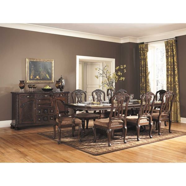 North Shore 9 Piece Dining Set By Ashley Furniture Is Now Available At American Warehouse