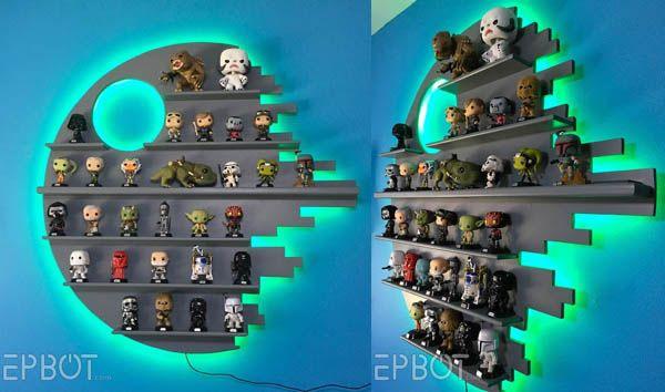 Si coleccionas muñequitos de Star Wars, del estilo de Funko Pop o de Lego, esta es la estantería definitiva. Se trata de una reproducción de la segunda Estrella de la Muerte, con el detalle de estar retro-iluminada en diversos colores. Es un diseño de EPBOT.com que no está a la venta, pero han publicado instrucciones … Sigue leyendo Estantería Estrella de la Muerte →