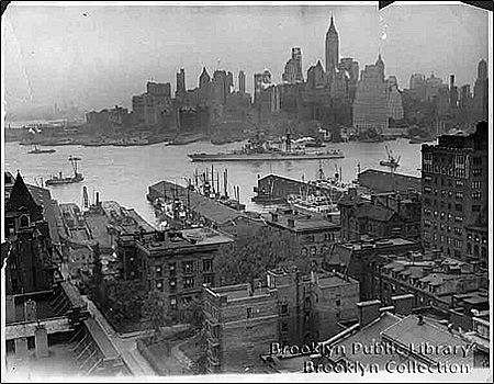old red hook brooklyn | title aerial view of brooklyn heights source brooklyn eagle date ca ...