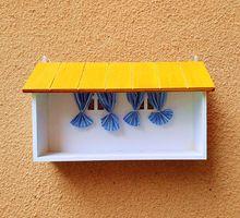 Творческий ящик для хранения декоративные настенные полки ящик для хранения окно стойки стиль дома органайзера(China (Mainland))