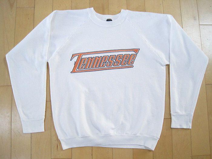 Bonito! 80s De Colección Universidad de Tennessee Voluntarios Blanco Sudor Camisa Medio | Ropa, calzado y accesorios, Vintage, Ropa vintage de hombre | eBay!