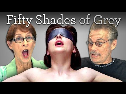Old people react to Fifty Shades of Grey trailer! LOL!