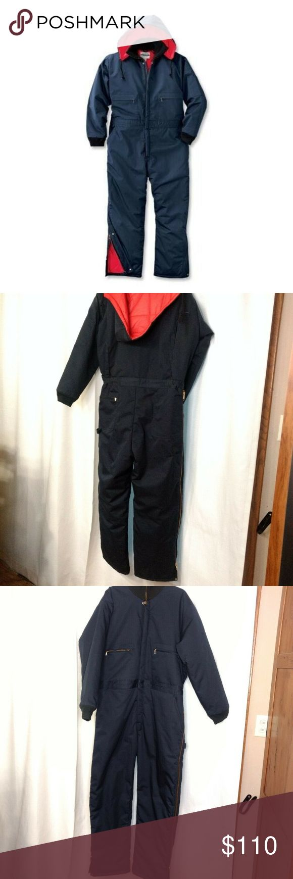 wearguard insulated waterproof coveralls size l in 2020 on men s insulated coveralls with hood id=58423