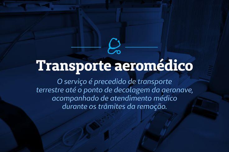 Saiba um pouco mais sobre como ocorre o transporte aeromédico. Mais informações entre em contato conosco: 0800 519 519.