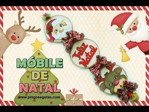 DIY Móbile de Natal