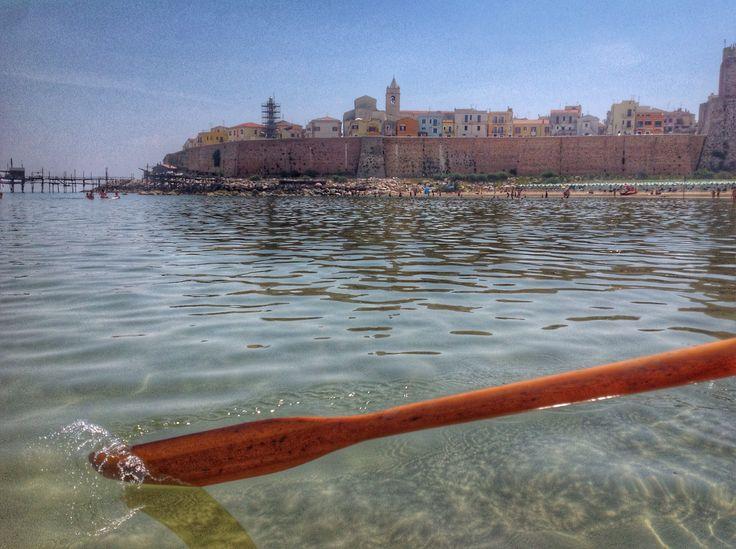 Un risveglio cristallino al Lido Panfilo. #spiaggiapanfilo #termoli #molise