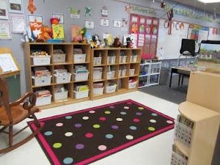 Classroom Library: Classroom Decor, Classroom Theme, Classroom Organizations, Classroom Setup, Classroom Libraries, Classroom Ideas, Polka Dots Theme, Polka Dot Theme, Libraries Organizations