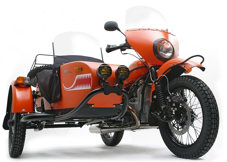 URAL YAMAL LIMITED EDITION 2012 MOTORCYCLE & SIDECAR