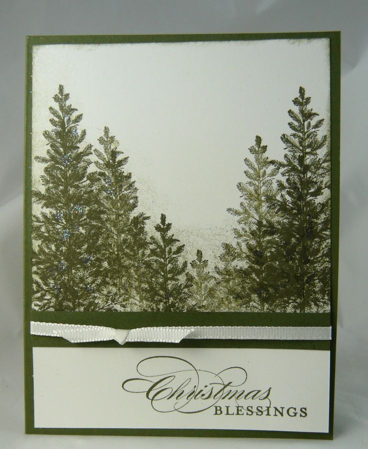 Lovely as a Tree Card... I have wanted this stamp set for awhile...someday.