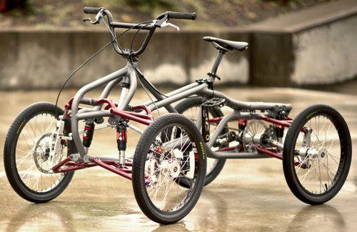 Four-Wheel Bike for Sale | Extreme! 4-Wheel Pedal Bike | Gear Review | Gear Junkie