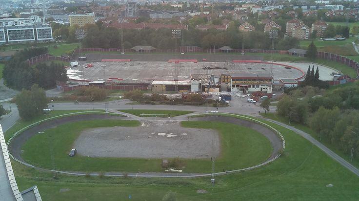 Vålerenga På Nett: Stadion tomta 1 Oktober. #VIF #Vålerenga #enga #stadion