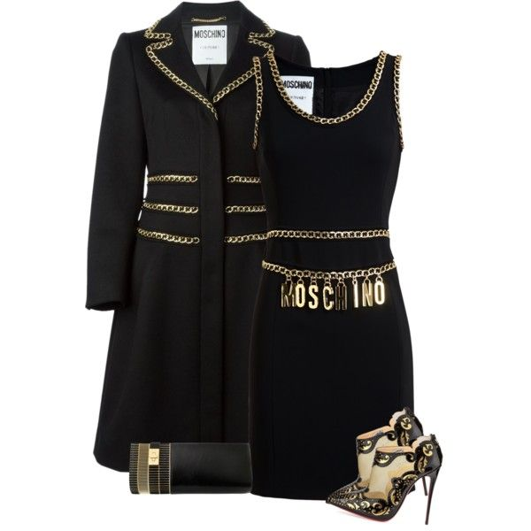 """""""black and gold"""" by bodangela on Polyvore"""