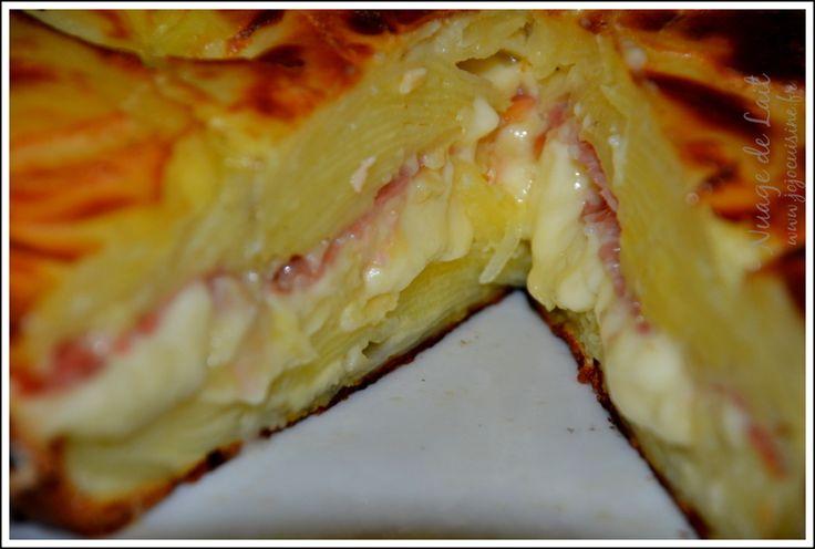 Gâteau Invisible Raclette