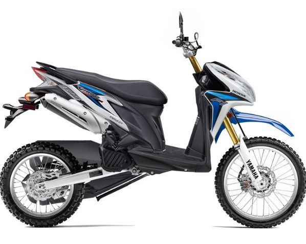 Modifikasi Honda Vario 150 Touring Trail