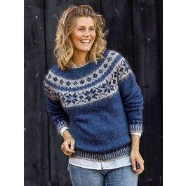 Sweater med stjernebort