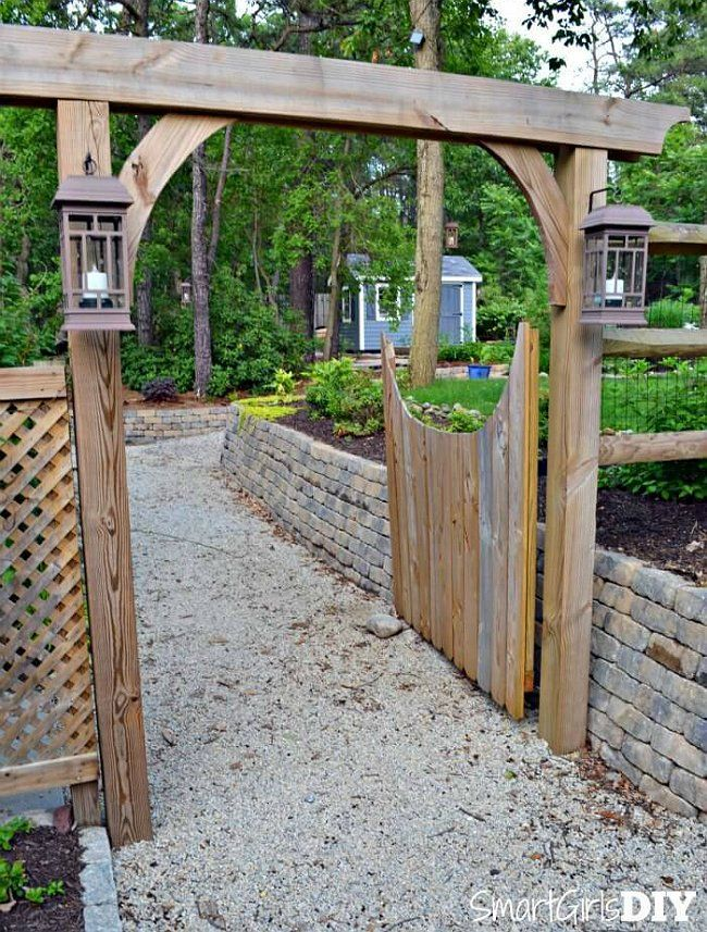 Weekend Projects 5 Ways To Diy A Fence Gate Diy Gazebo Outdoor