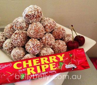 Cherry Ripe Balls Recipe - Best Cherry Ripe Balls You'll Ever Taste!.