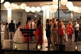 Paper lanterns + lanterns on the floor - NuNu Palm Cove Wedding