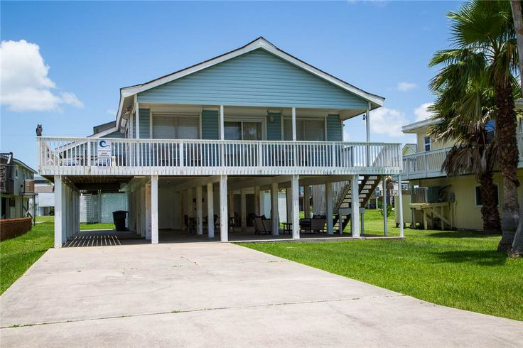 *GOIN COASTAL* Adorable beachside home located in family friendly Pirates Beach Subdivision. This 1681sqft home features a large deck partially shaded with an open area for sun bathing and partial views of the Gulf of Mexico.