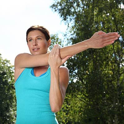 Article with ideas for exercising with RA (rheumatoid arthritis) and other forms of joint-related chronic illness.