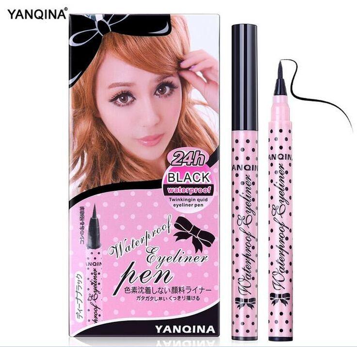 Hot Black eye liner Makeup tools accessories Not Dizzy Waterproof Liquid Eyeliner Pencil best quality eyeliner to eye permanent