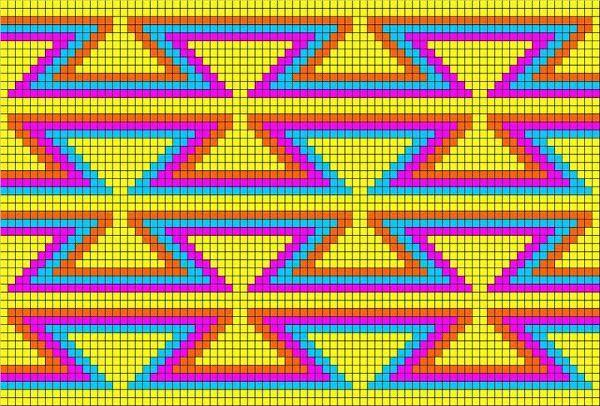 diagramas mochilas wayuu - Buscar con Google